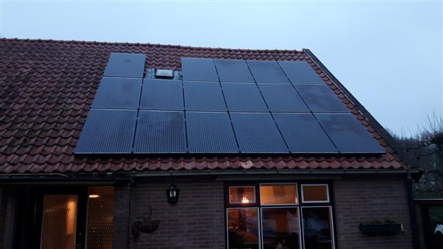 SolarWatt glas-glas zonnepanelen Elim