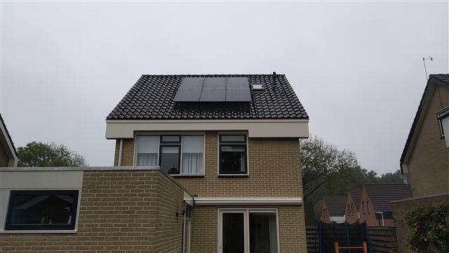 SolarWatt glas-glas zonnepanelen Noordscheschut