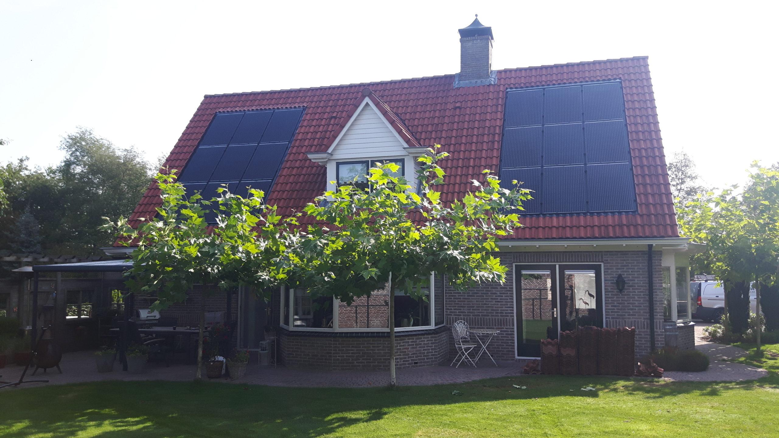 Solarwatt glas glas zonnepanelen indak Noordscheschut