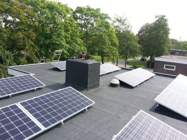 JA Solar zonnepanelen Ubbink bak Groningen