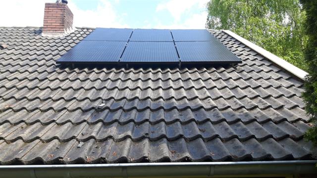 IBC zwarte zonnepanelen Hollandscheveld