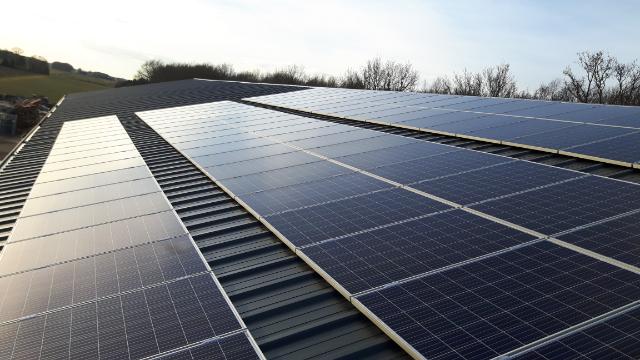 IBC Polysol zonnepanelen Hollandscheveld