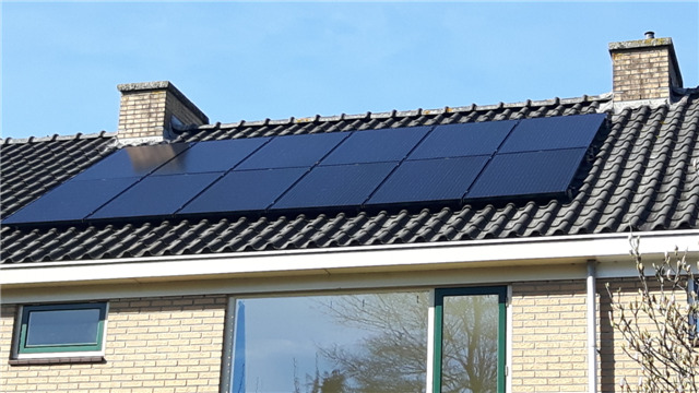 IBC zwarte zonnepanelen Groningen