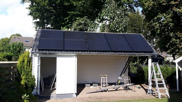 Solar Frontier zonnepanelen Zuidwolde