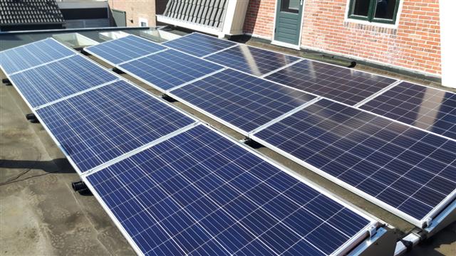 IBC Polysol zonnepanelen Hoogeveen