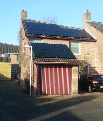 Solarfrontier zonnepanelen Hoogeveen