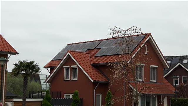 Solarwatt glas glas zonnepanelen Beuningen