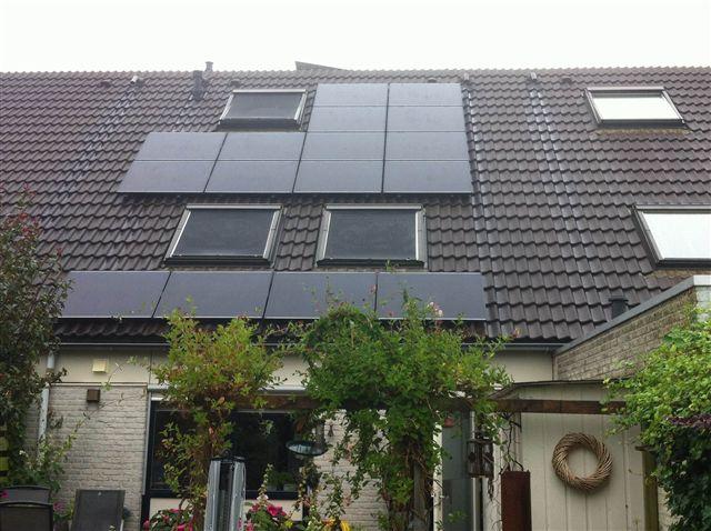 Solar frontier zonnepanelen Hoogeveen