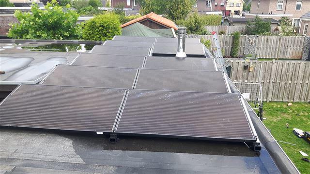IBC zonnepanelen flatfix fusion Hollandscheveld