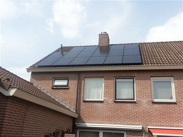 Hanwha zonnepanelen Hoogeveen