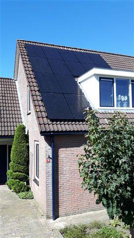 Solarwatt glas glas zonnepanelen Hoogeveen