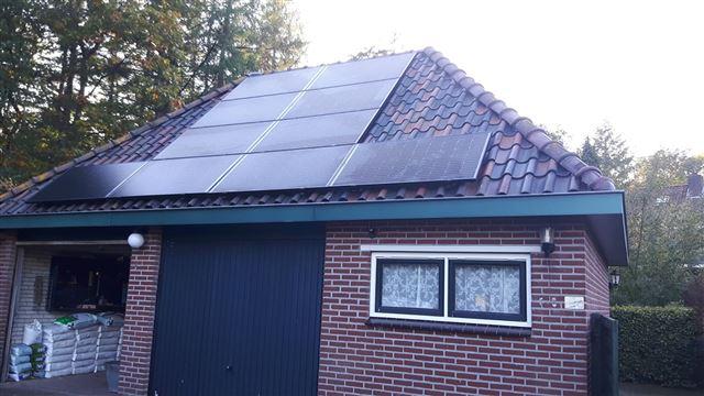 Solarwatt glas glas zonnepanelen Beekbergen