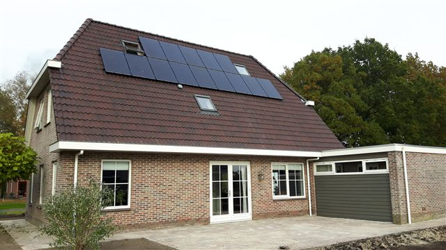 JA solar zonnepanelen Hollandscheveld