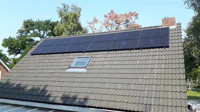 Solarwatt glas glas zonnepanelen Nieuw Balinge