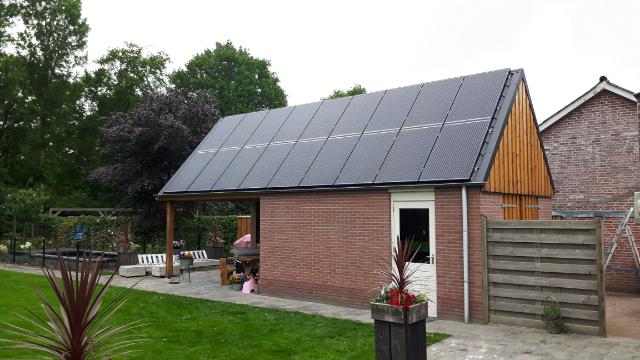 Solarwatt glas glas zonnepanelen Lemelerveld