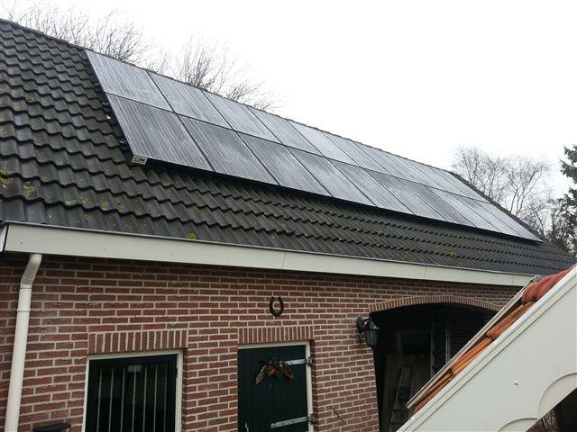 JA solar zonnepanelen Elim