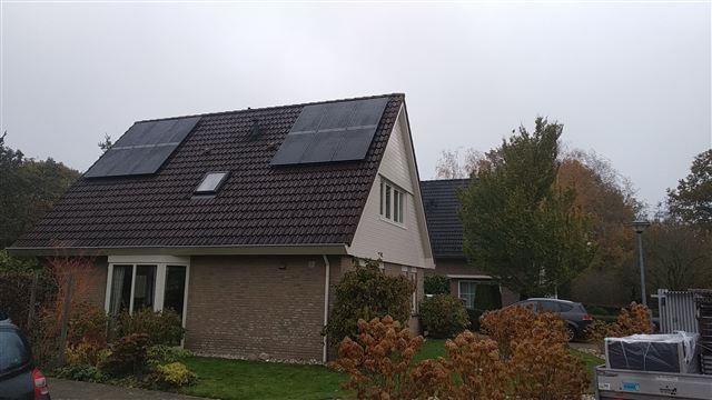 Solarwatt glas glas zonnepanelen Vries