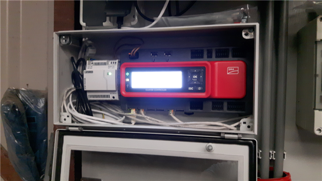 SMA cluster controller Broekland