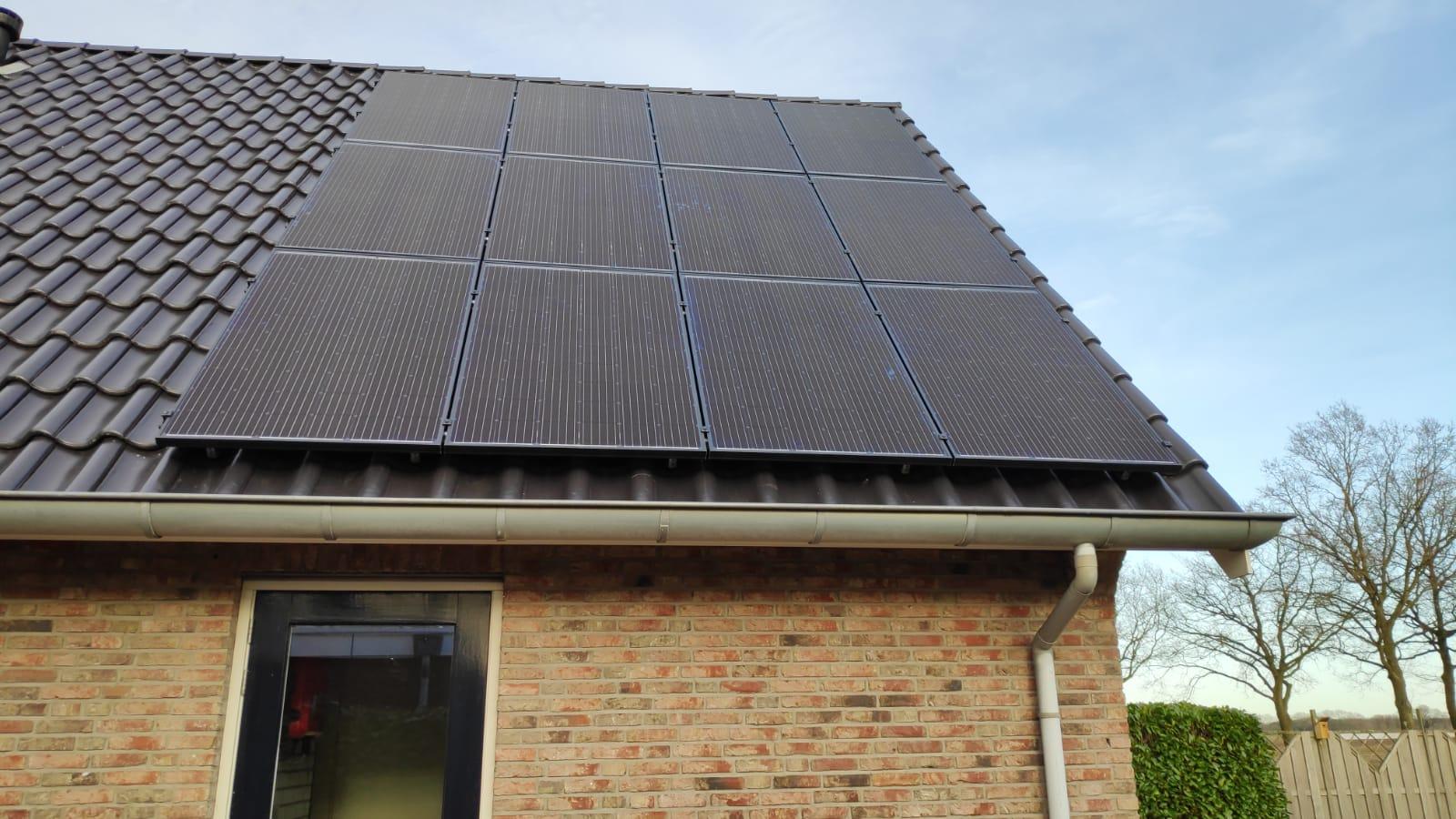 Solarwatt glas glas zonnepanelen Odoorn