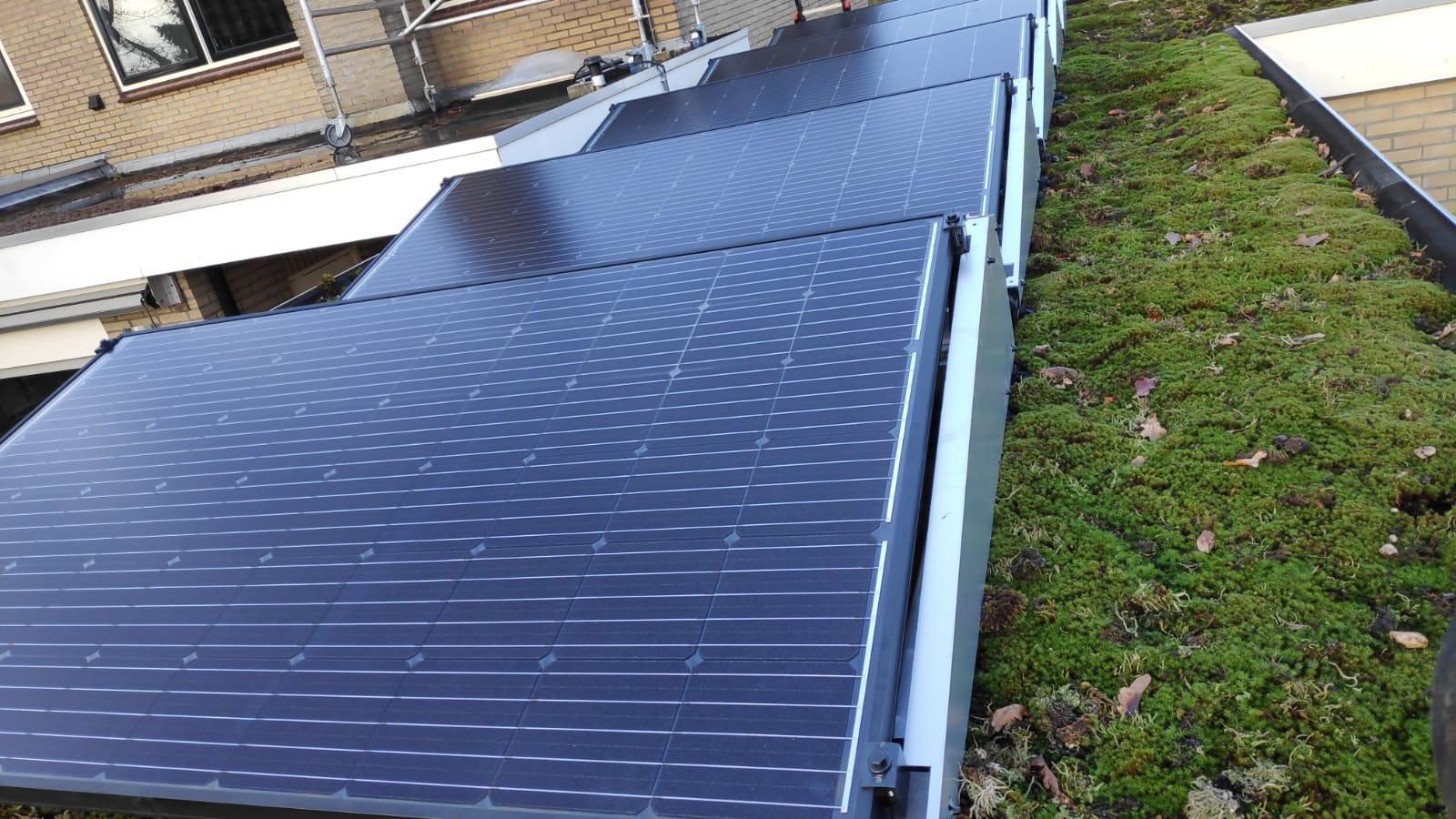 Solarwatt glas glas zonnepanelen Zuidwolde