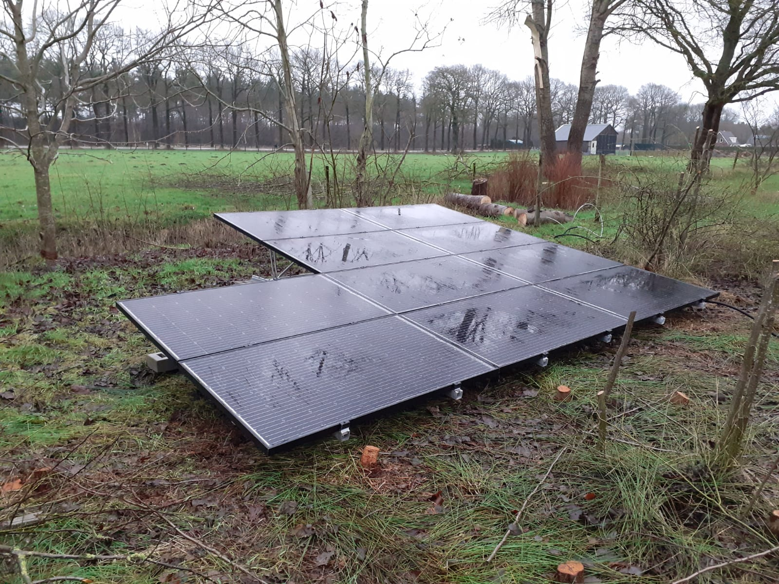 Solarwatt glas glas valk schans Tiendeveen
