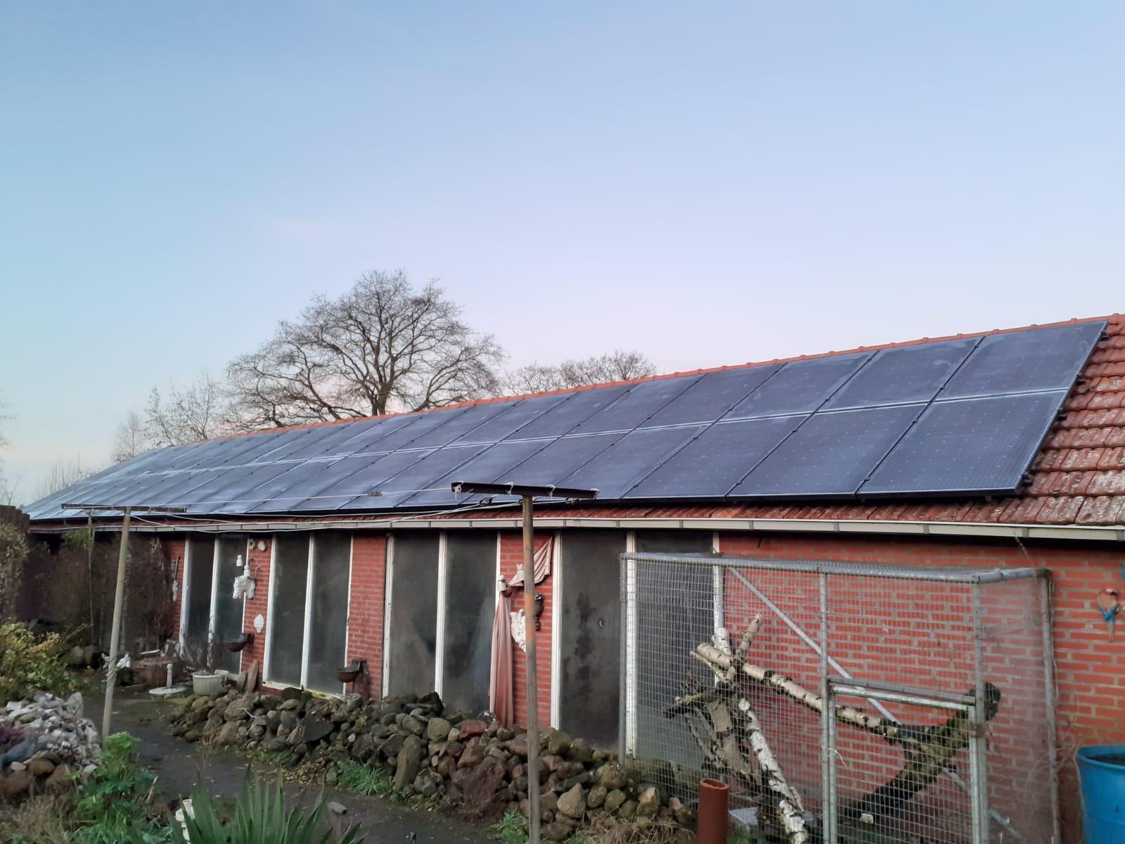 Solarwatt glas glas zonnepanelen Bakkeveen