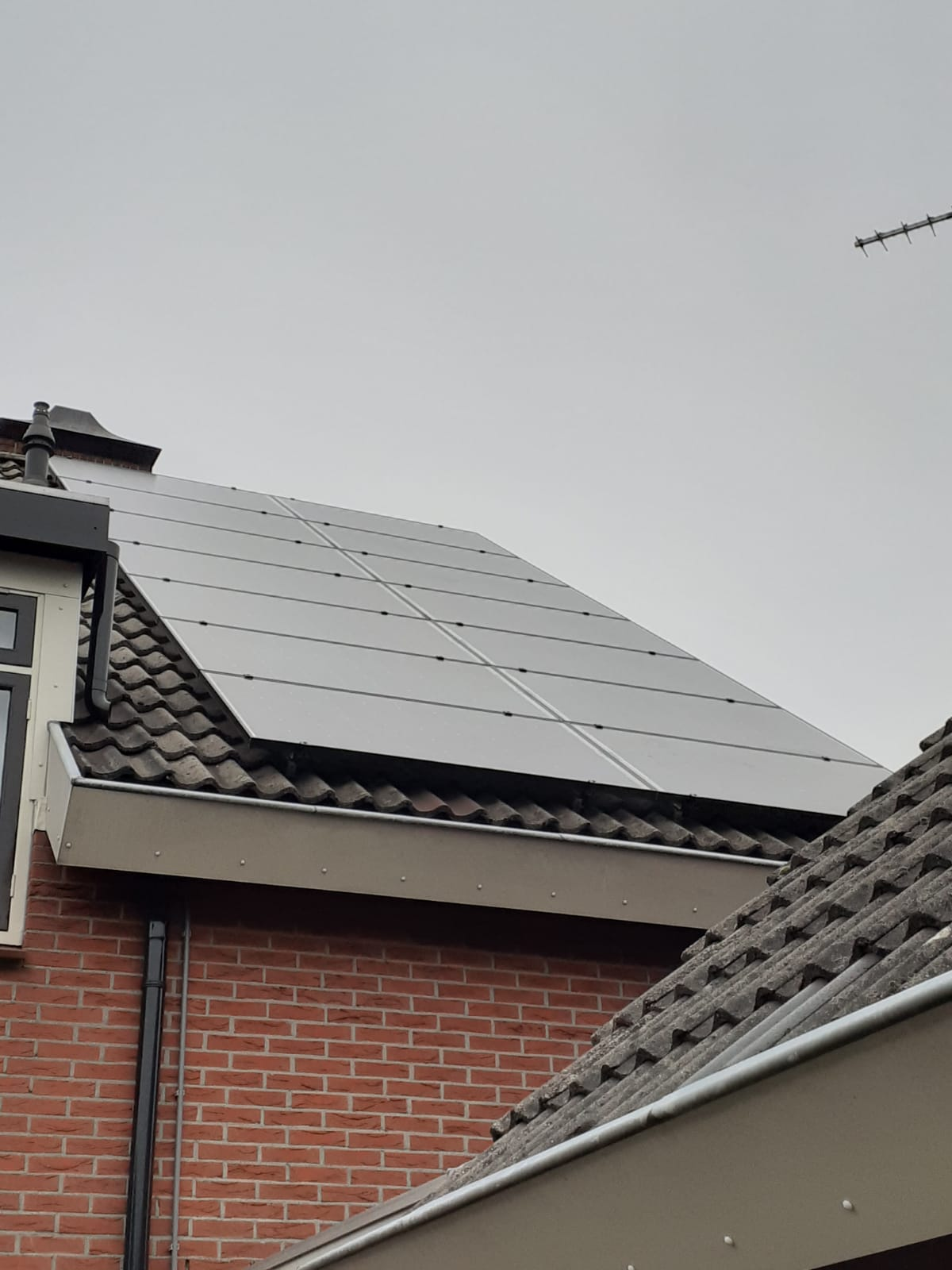 Solarwatt glas glas zonnepanelen in Elim