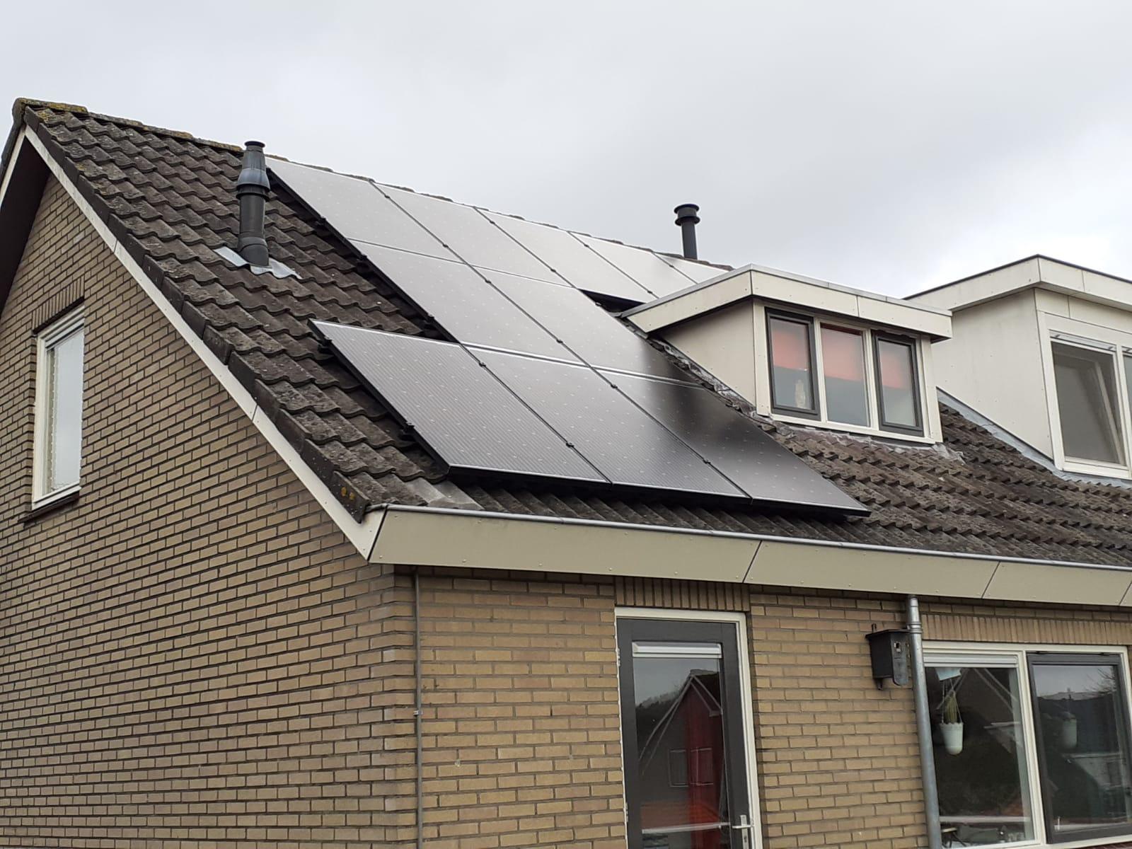 SolarWatt glas-glas zonnepanelen Zuidwolde