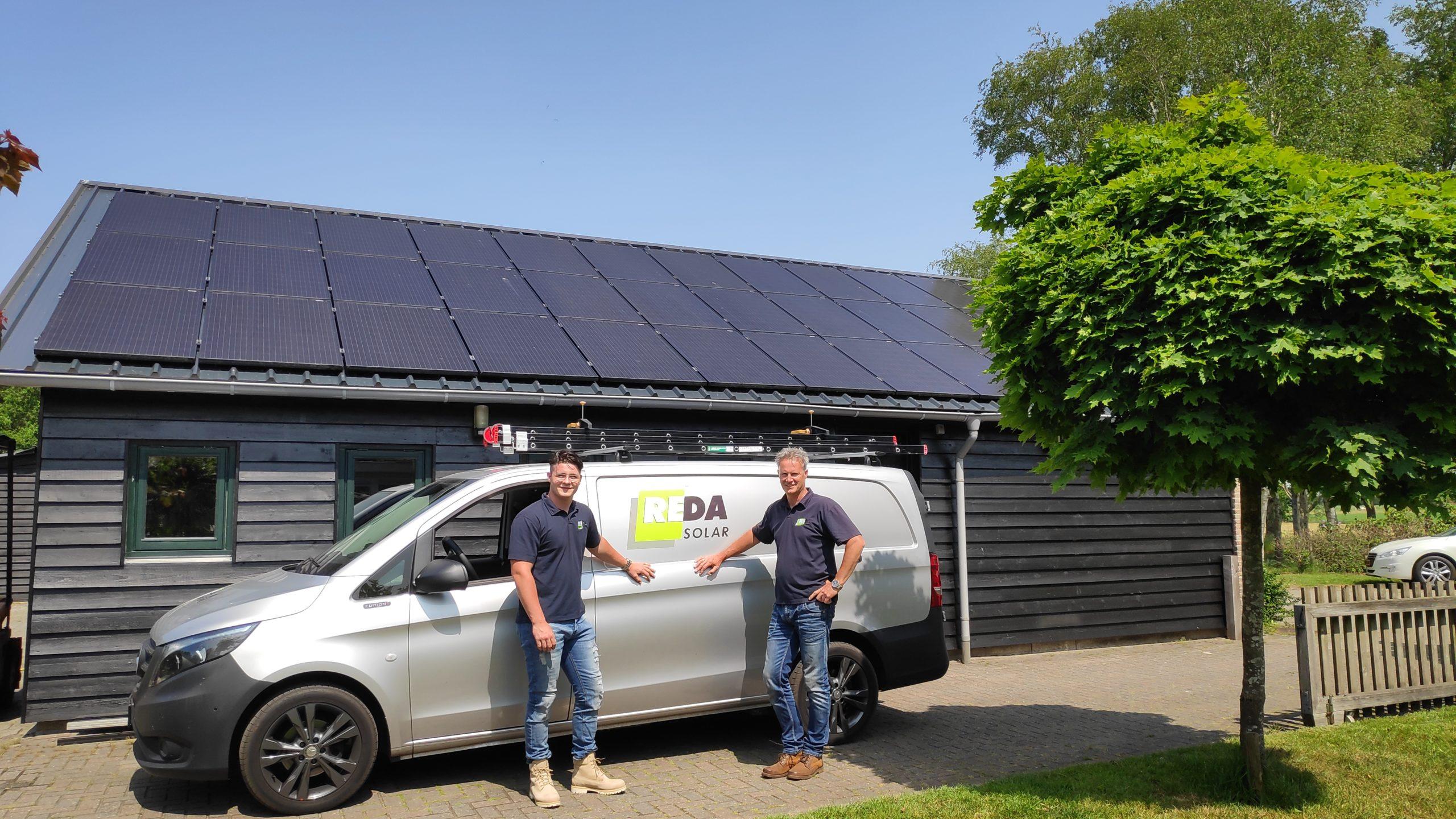 Daan en Ronald Kunenborg Reda Solar