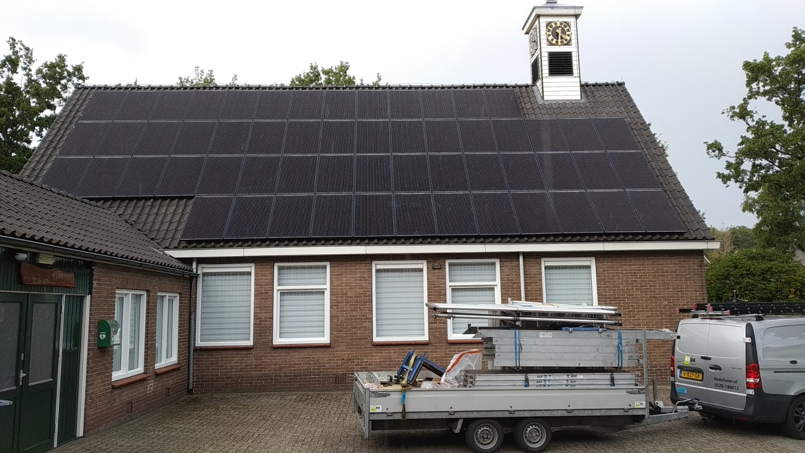 Solarwatt glas-glas zonnepanelen Tiendeveen