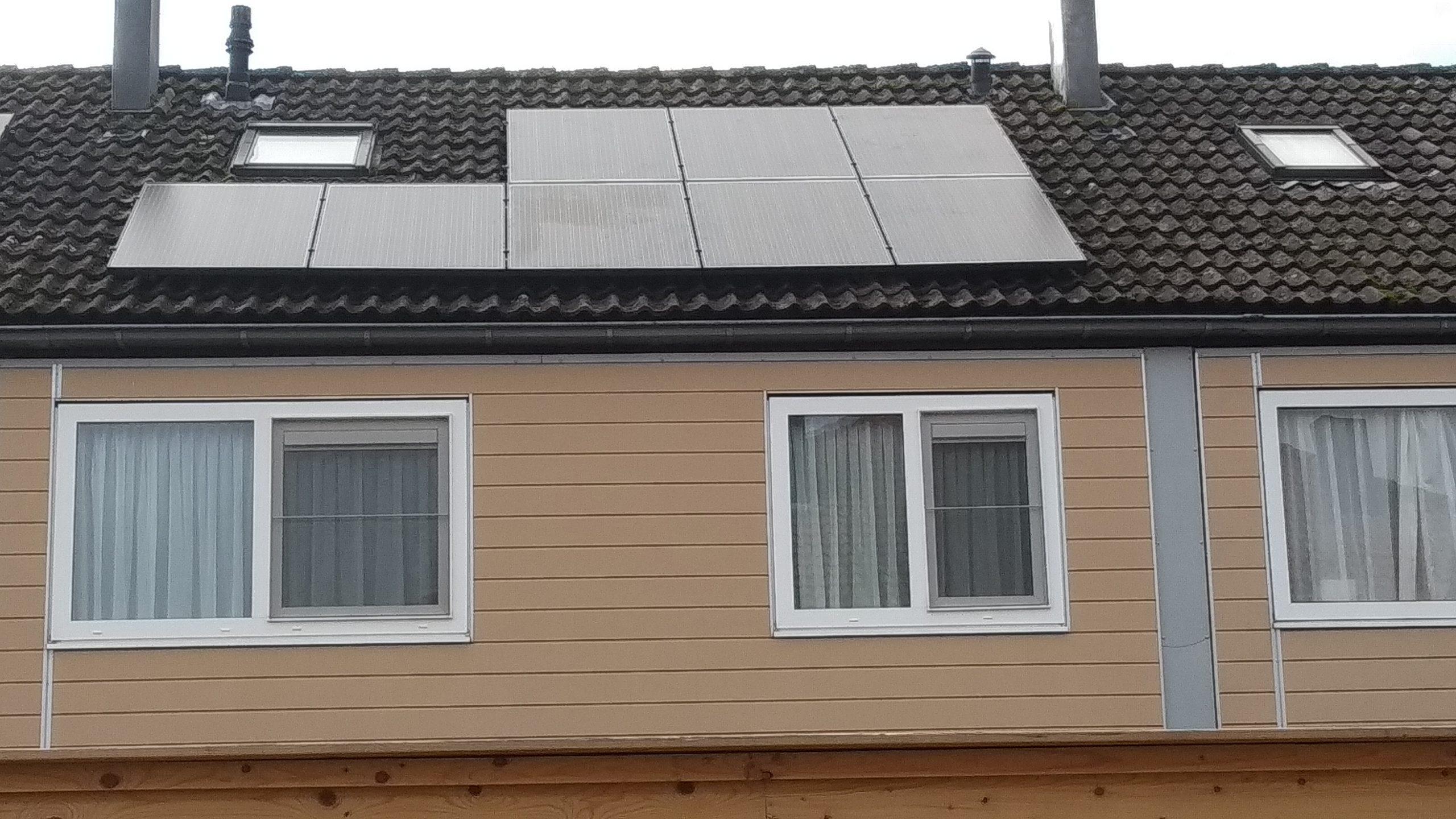 Solarwatt glas glas zonnepanelen Noordscheschut
