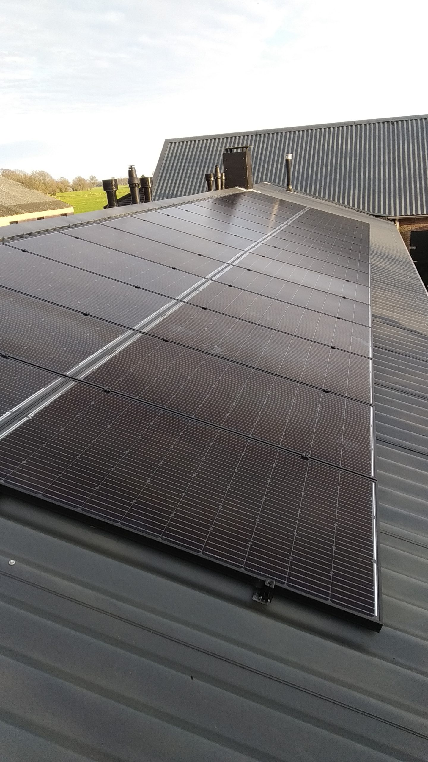 Solarwatt glas glas zonnepanelen Stuifzand