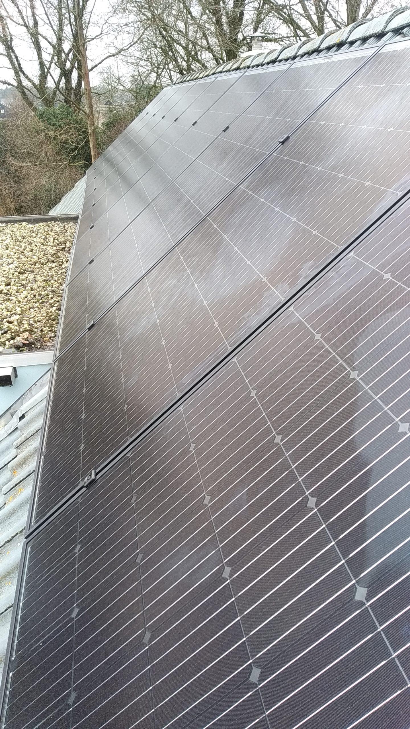 Solarwatt glas glas zonnepanelen Pesse