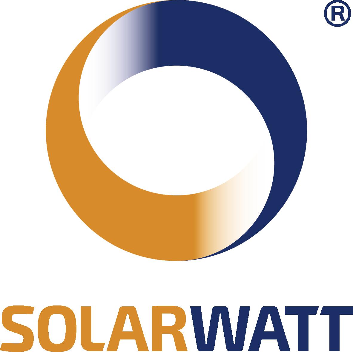 Solarwatt logo zonnepanelen