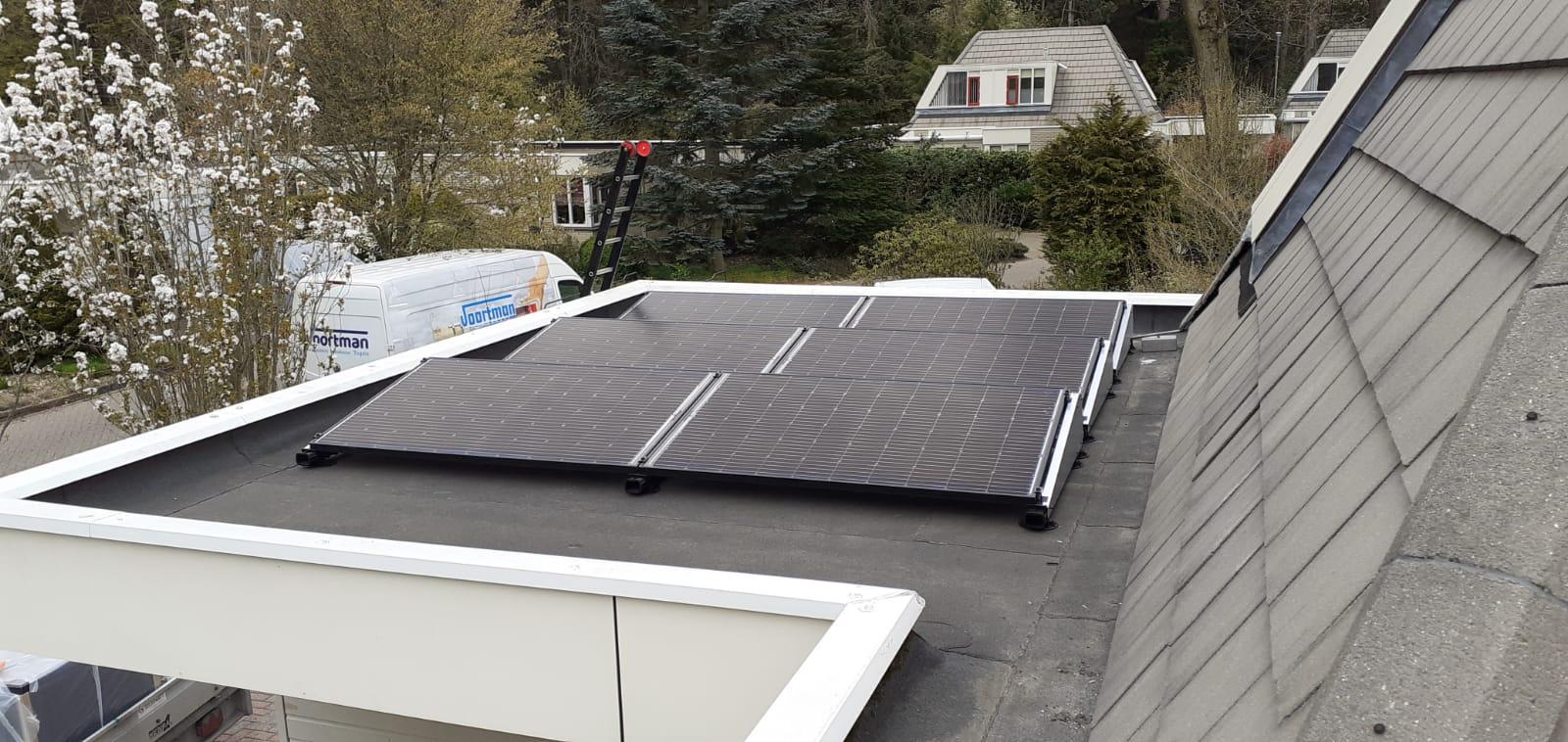 SolarWatt glas glas zonnepanelen Fluitenberg