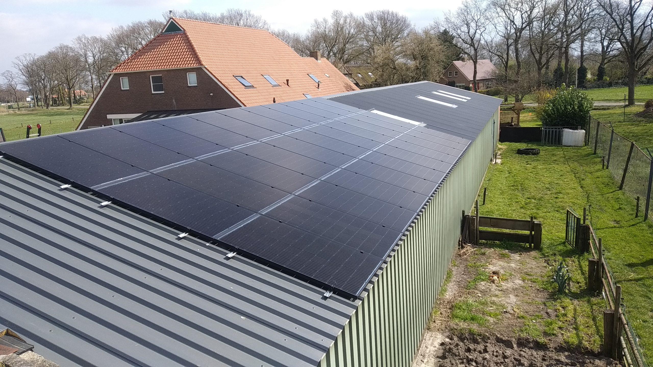 Solarwatt glas-glas zonnepanelen Echten