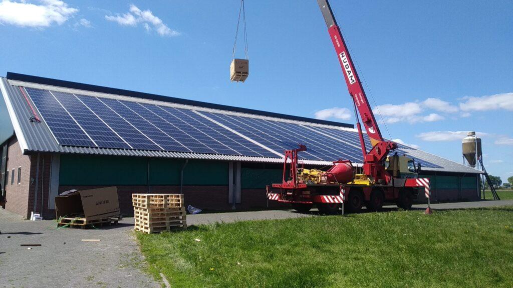 Jinko Cheetah zonnepanelen met SMA Core-1 omvormers Vroomshoop