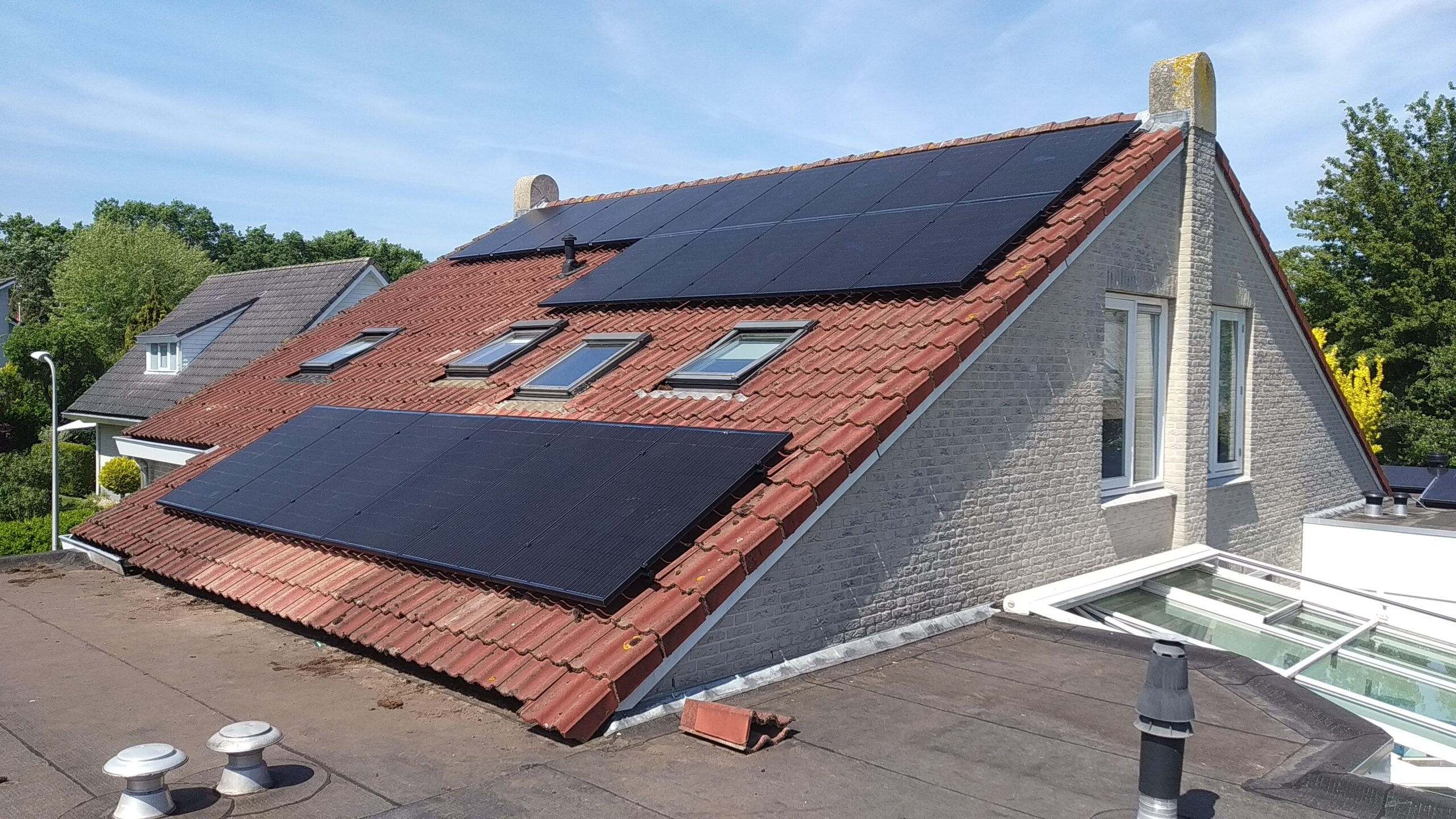 SolarWatt glas-glas zonnepanelen Hoogeveen Drenthe