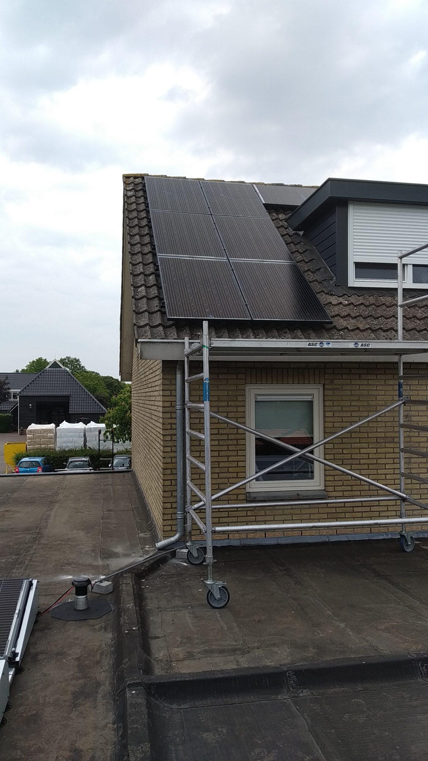 SolarWatt glas-glas zonnepanelen Zuidwolde Drenthe