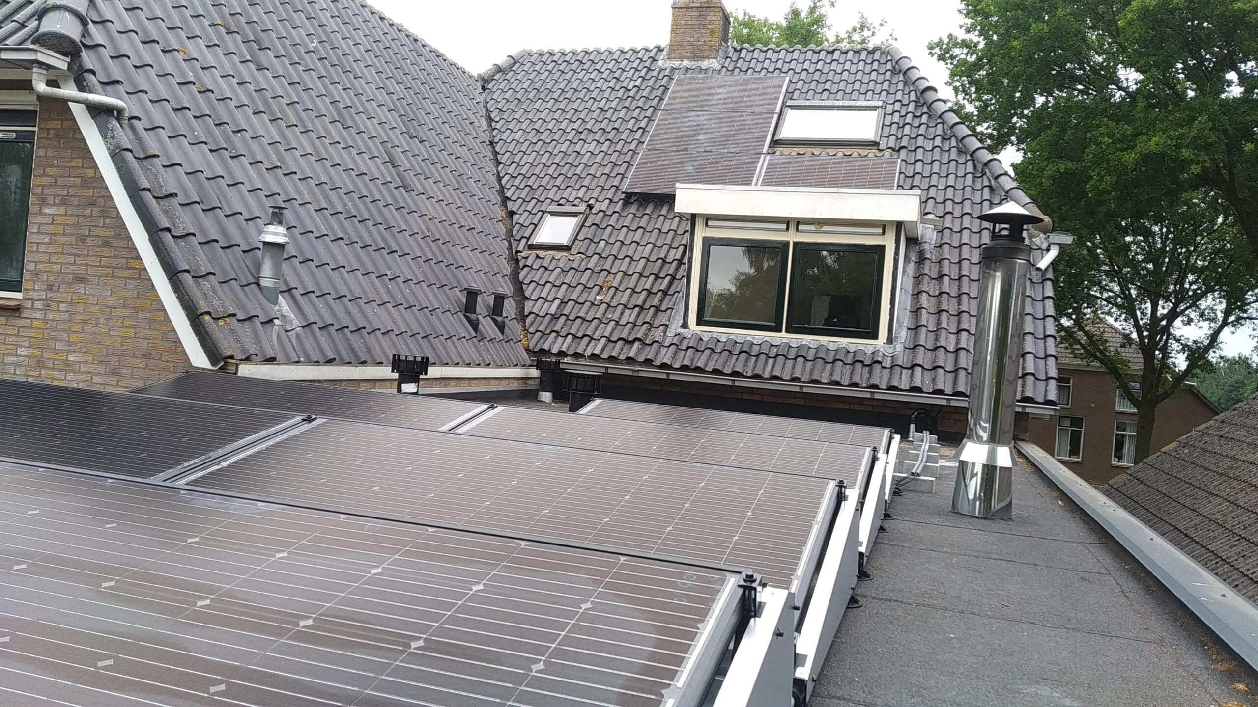 SolarWatt glas-glas zonnepanelen Hollandscheveld Drenthe