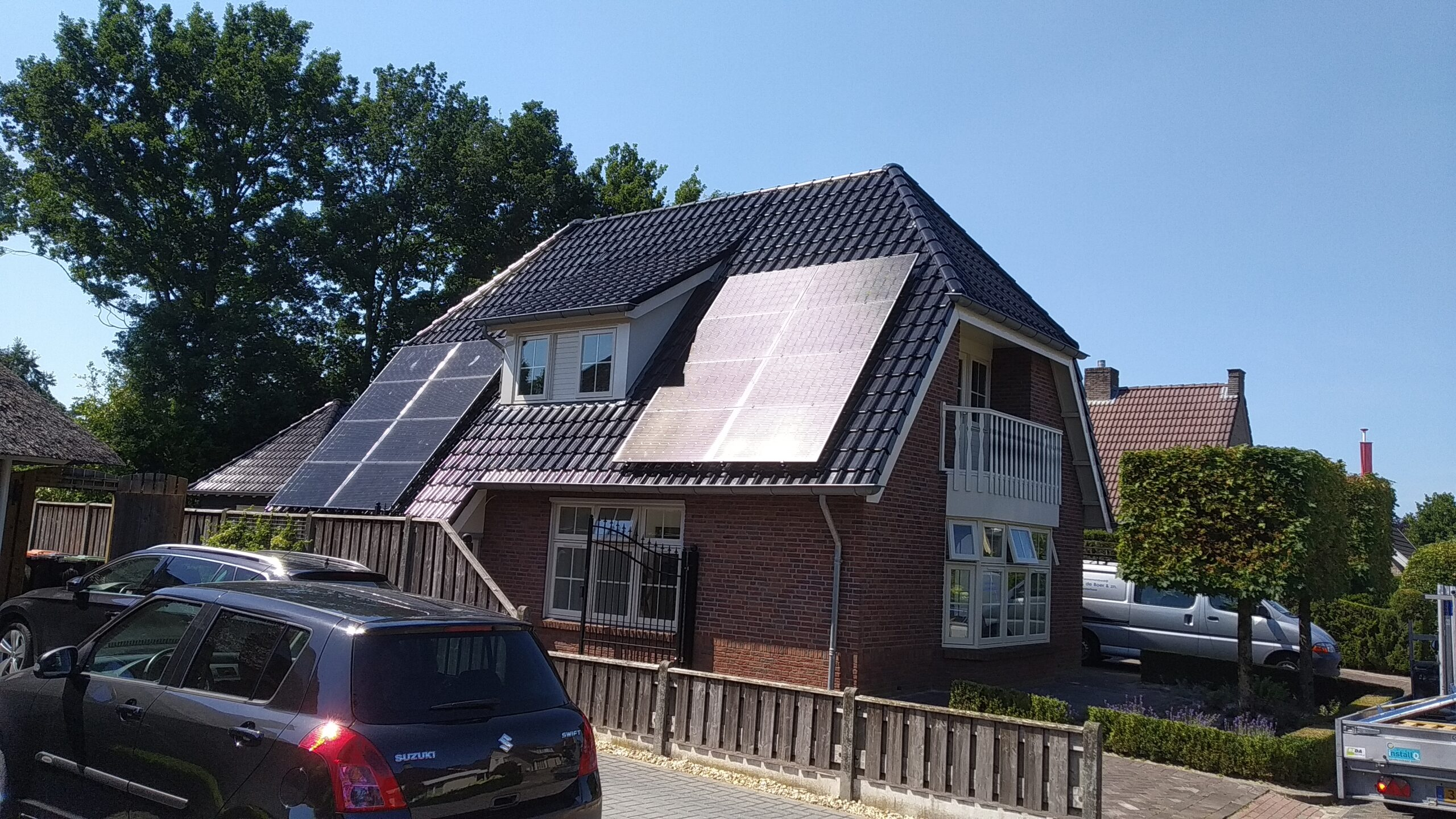SolarWatt glas-glas zonnepanelen Vroomshoop