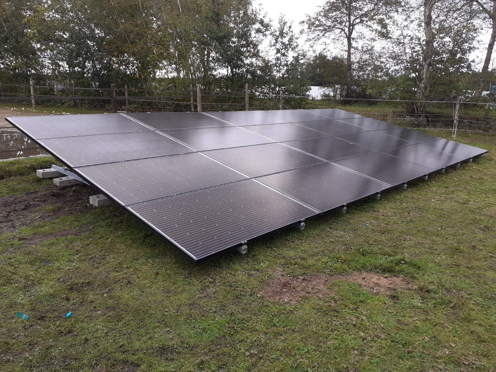 Solarwatt glas-glas zonnepanelen Fluitenberg