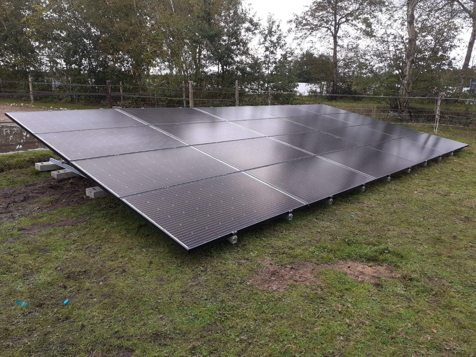 Solarwatt zonnepanelen Fluitenberg