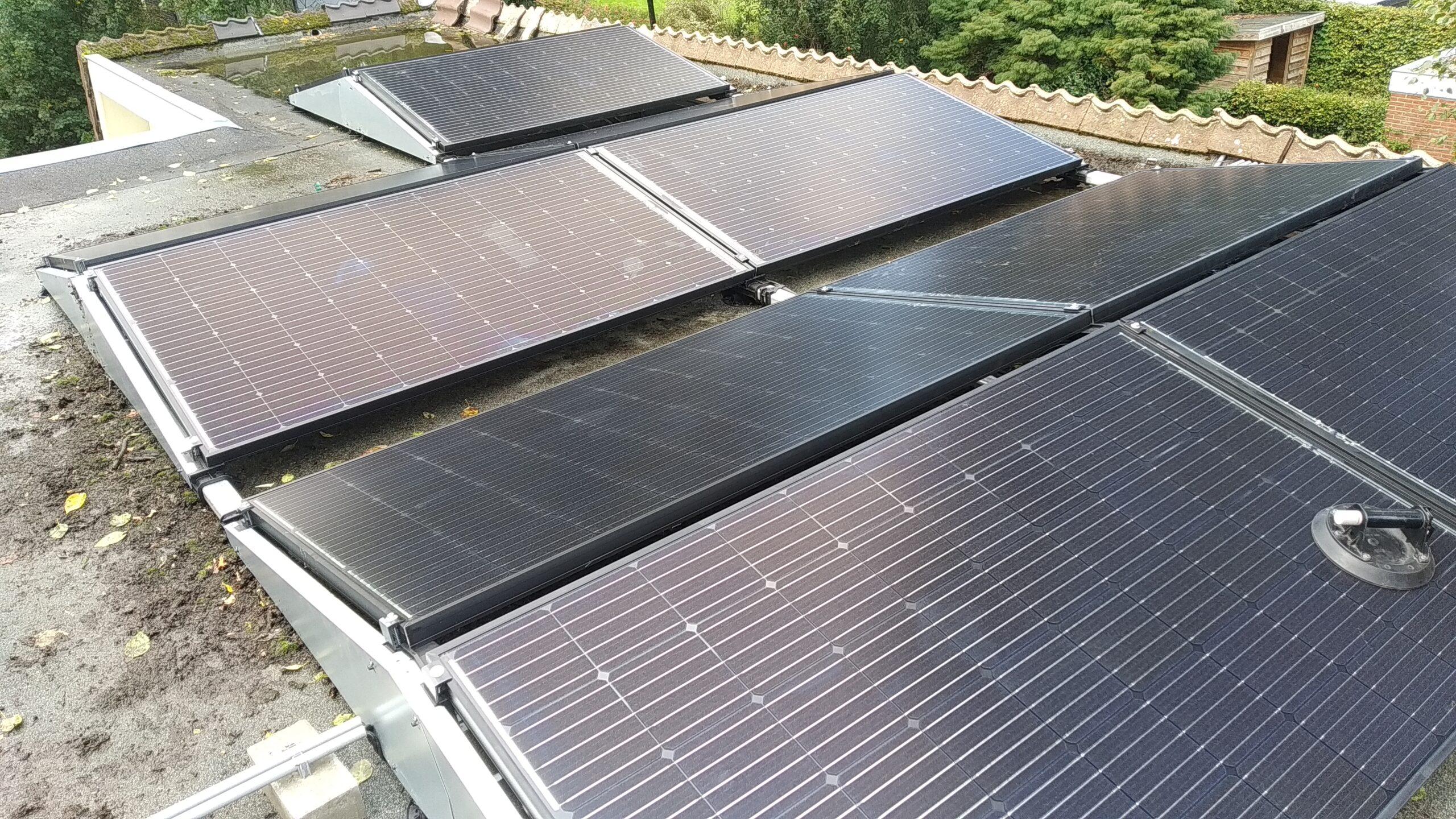 Solarwatt glas glas zonnepanelen Hoevelaken