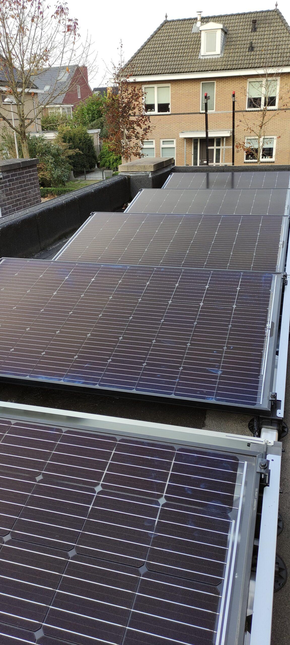 Solarwatt glas-glas zonnepanelen Hoogeveen