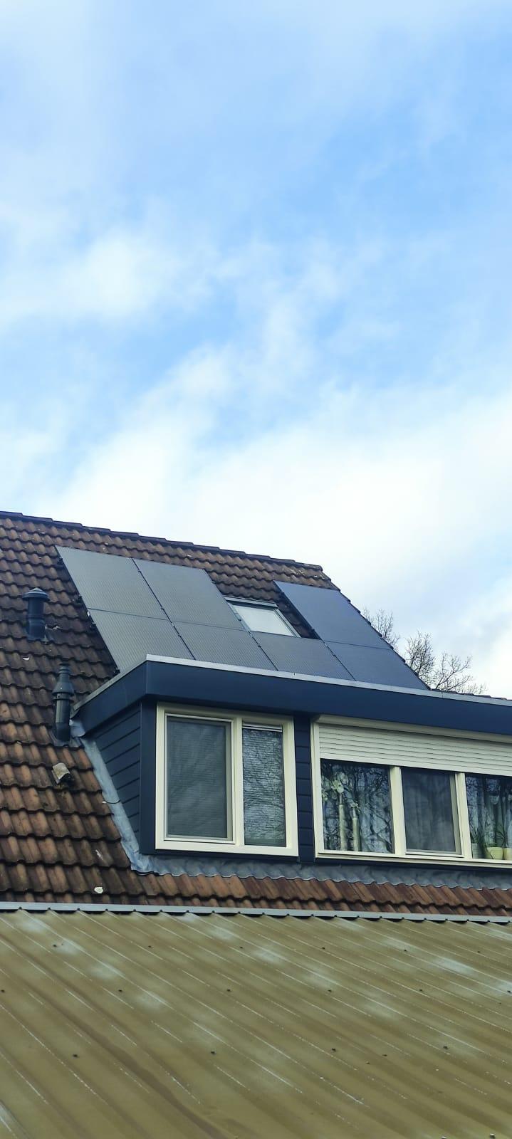SolarWatt glas glas zonnepanelen Hardenberg