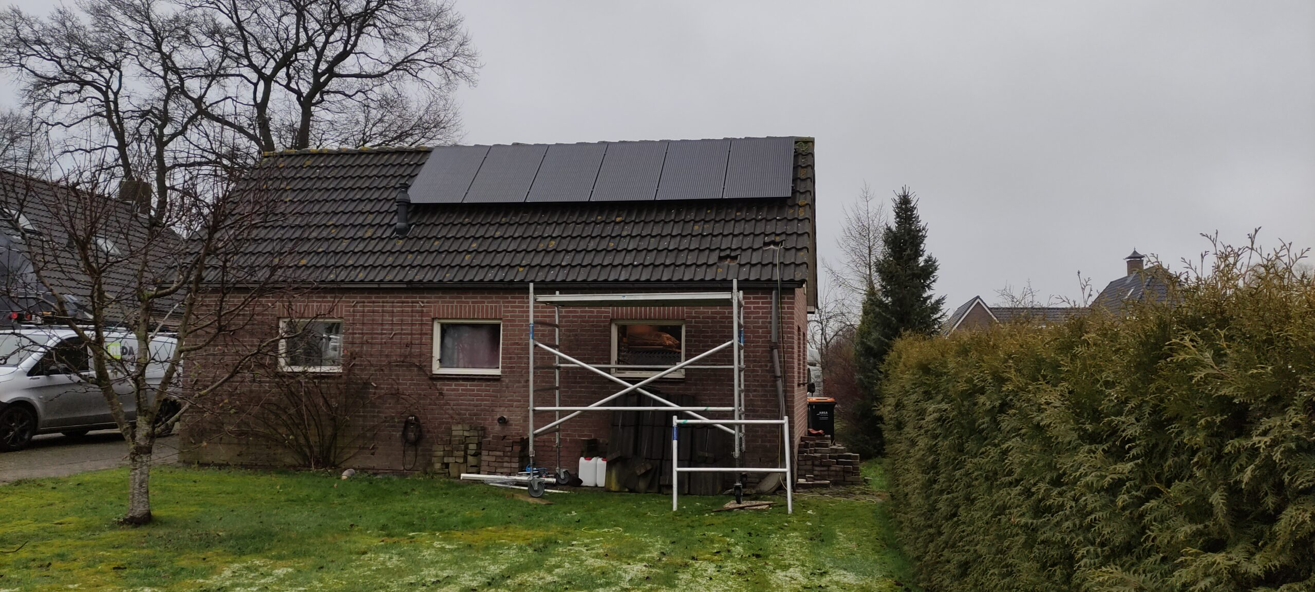 SolarWatt glas glas zonnepanelen Hollandscheveld