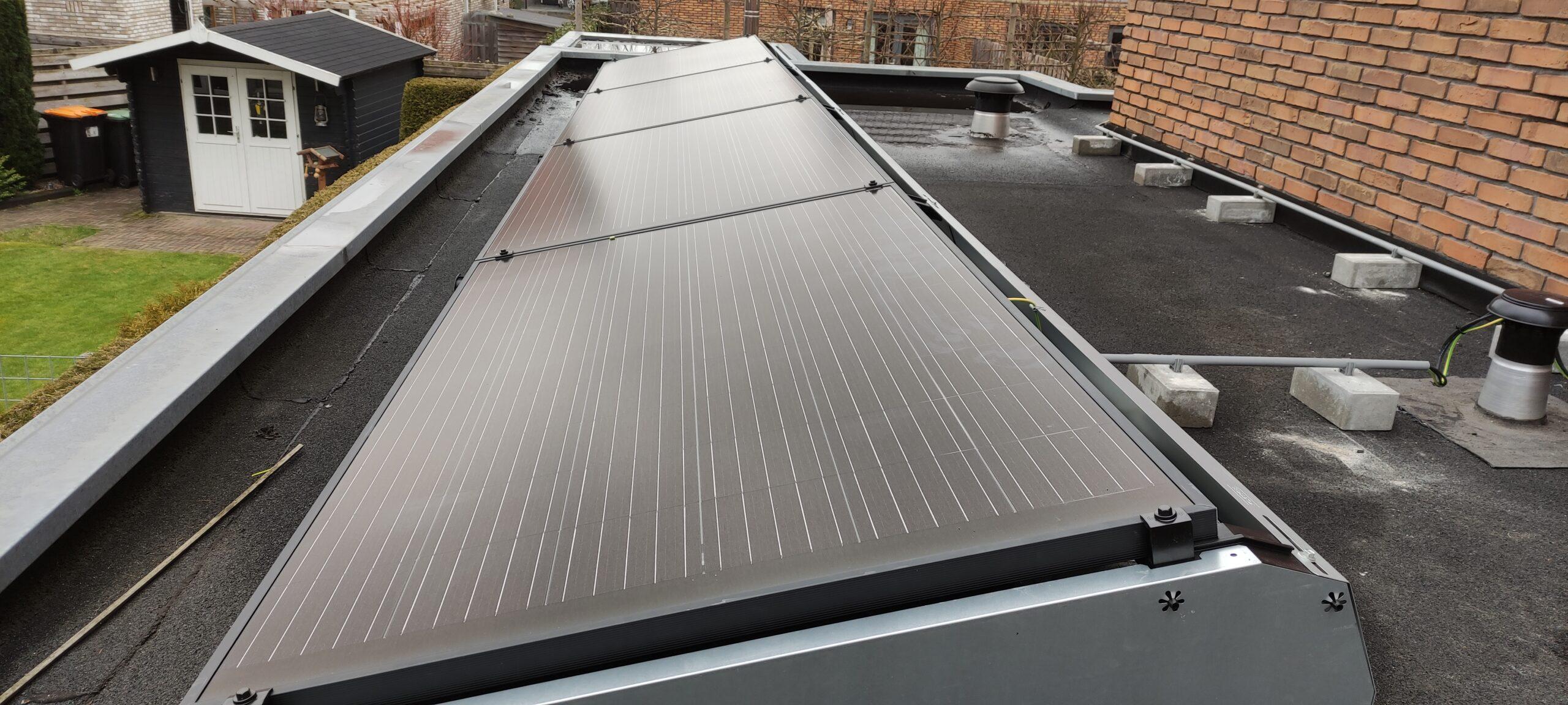 SolarWatt black edition glas glas zonnepanelen Zuidwolde