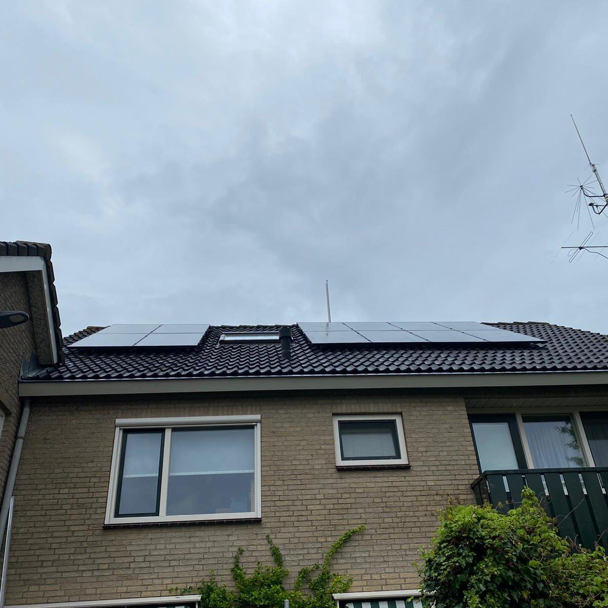 SolarWatt black edition glas glas zonnepanelen Nijkerk