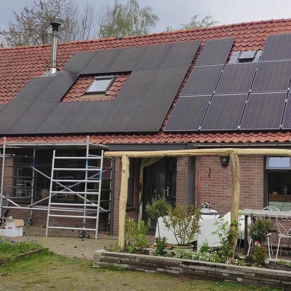 SolarWatt black edition glas glas zonnepanelen Elim Drenthe